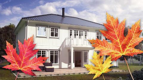 Vinterklart hus_hus klart til vinter