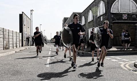 Annual Shield Run at Gravesend