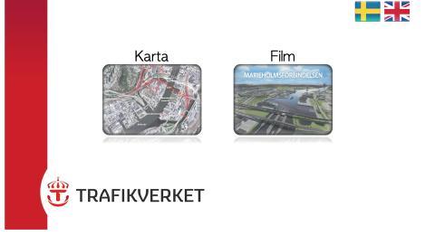 """Trafikverket använder ny pekapplikation från Zenton för storsatsningen """"nya Marieholmsförbindelsen""""."""