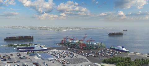 Göteborgs Hamn bygger ny terminal