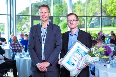 Sørlandets Energipris 2016: Arendal kommune og Arendal Eiendom KF er Sørlandets smarteste strømbruker