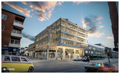 Forsen leder genomförandet när Castellum bygger kontor på attraktivt läge i Uppsala