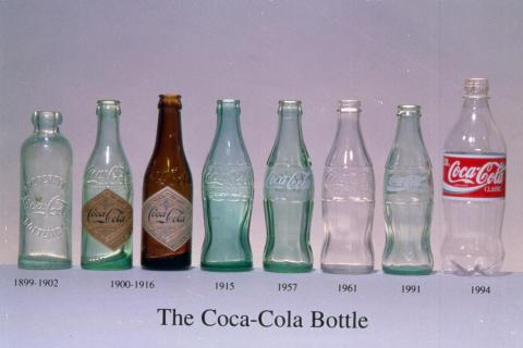 Coca-Colan muotopullon kehitys