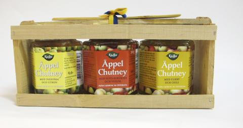 Vinn Äppelchutney från Kiviks Musteri
