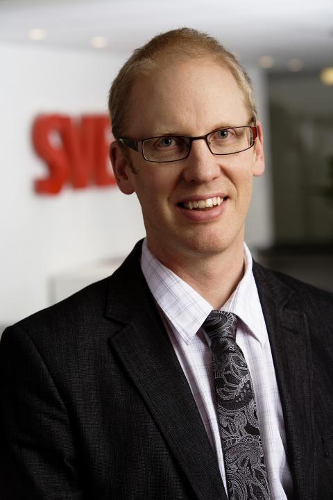 Erik Lundman ny anläggningschef i Svevia