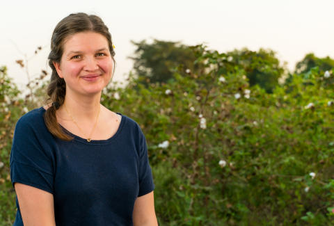 Annabelle Lefébure-Henriksen i India