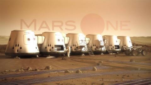 Björn Borg tränar för Mars:  - Iscensätter visning som en hyllning till Mars One