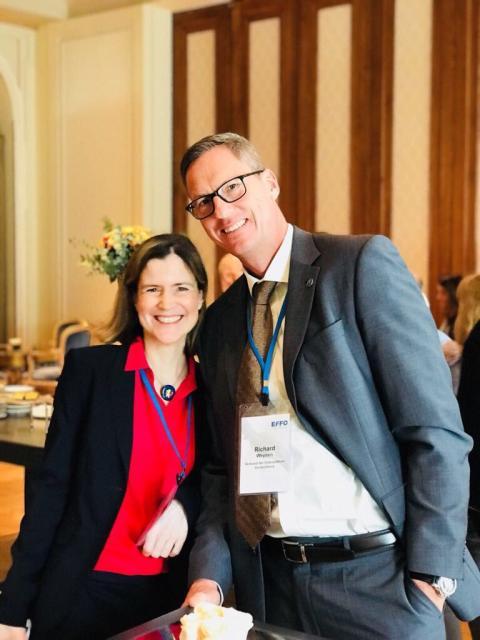 VOD mit Richard Weynen im Vorstand des neuen Europäischen Osteopathieverbands EFFO vertreten