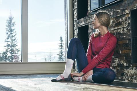 Nordic wool underställ värmer när det är riktigt kallt