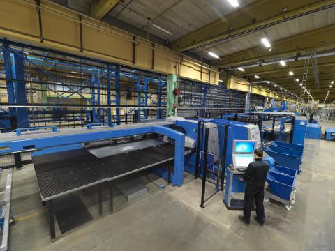 Ny maskinlinje för bättre produktion