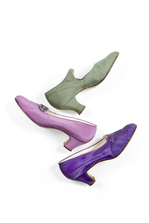 Tre skor ur Ebba von Eckermanns garderob.