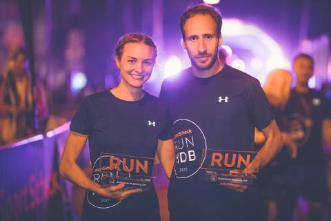 Juliette Gogoll (37:53m) und Frank Schauer (31:48m) gewannen über die 10km Distanz