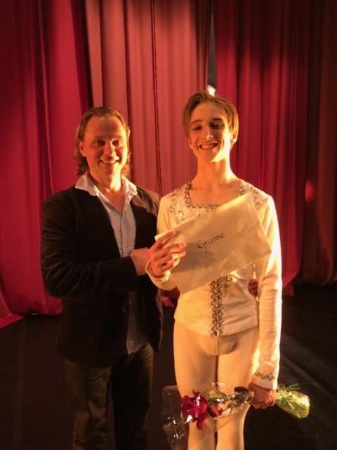 Tidigare elev vid Svenska Balettskolan vann guld i den internationella balettävlingen i Grasse, Frankrike