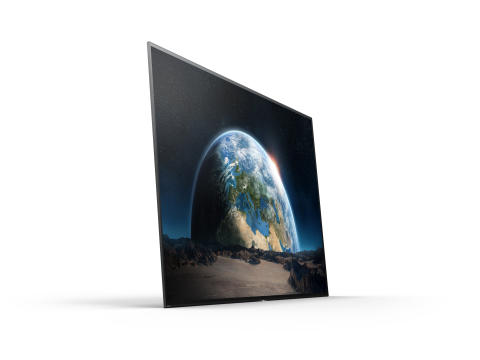 Sony lanceert spectaculaire BRAVIA OLED A1 TV commercial