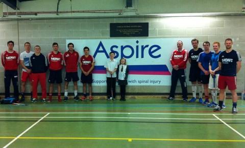 GB Men's Hockey Squad train at Aspire National Training Centre
