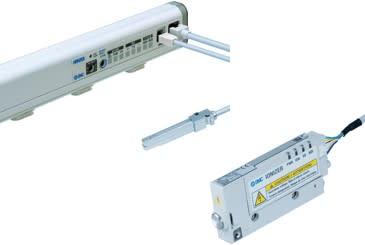 Eliminera statisk elektricitet med joniseringsutrustning från SMC