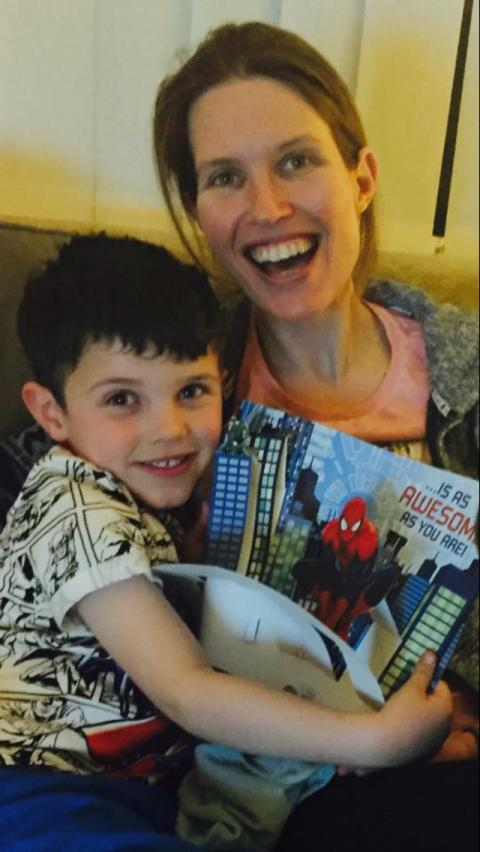 ​Leicester woman takes on marathon after two year old nephew's stroke