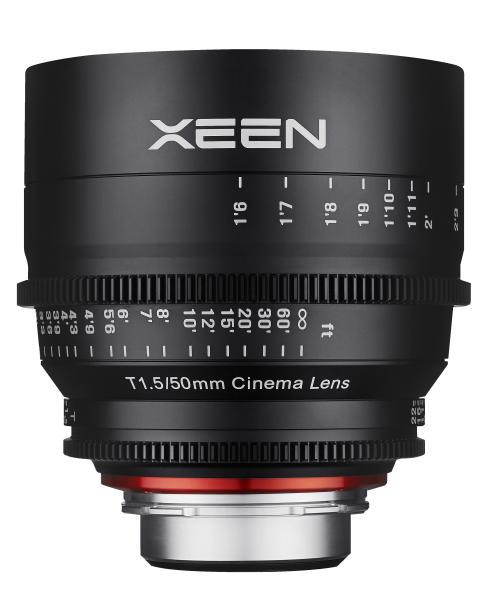 XEEN 50mm T1.5 från sidan 2