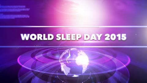 World Sleep Day 13 mars kl. 15.00 -  Telemedicin, framtidens lösning för bättre sömnapnévård.