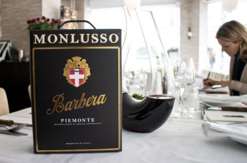 Monlusso - den första Barberan på box från Piemonte,
