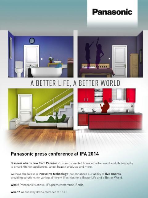 Panasonic Press Conference at IFA 2014