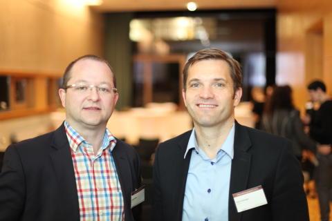 Sascha Sauer und Sirko Schneppe, Geschäftsführer der Diva-e Ageto GmbH