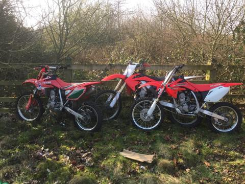 Appeal for dash-cam footage after three off-road bikes seized near St Helens
