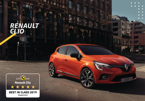Nya Renault Clio säkrast i supermini-klassen
