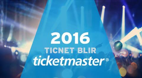 Ticnet har bytt namn till Ticketmaster