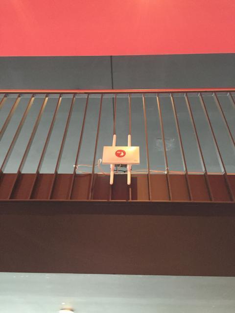 WLAN Accesspoint im Cinestar Leipzig