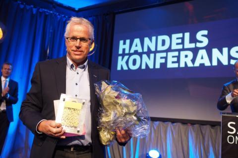 KIWI-sjef Jan Paul Bjørkøy kåret til Årets retailleder 2014