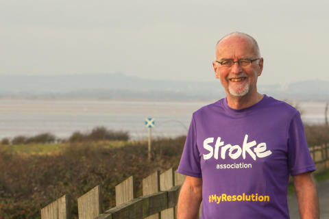 Septuagenarian stroke survivor takes on Resolution Run for the Stroke Association