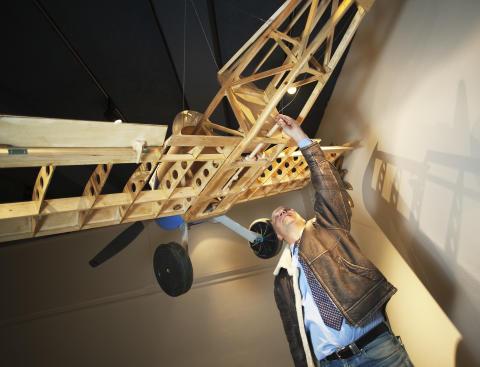 Rafflande och högtflygande äventyr på Nördcafé