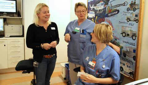Rekordkorta väntetider på Norrtälje sjukhus