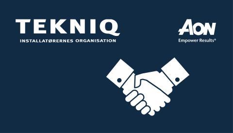 Nyt forsikringssamarbejde mellem TEKNIQ og Aon Affinity