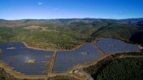 Inauguration du parc photovoltaïque Lé Camazou