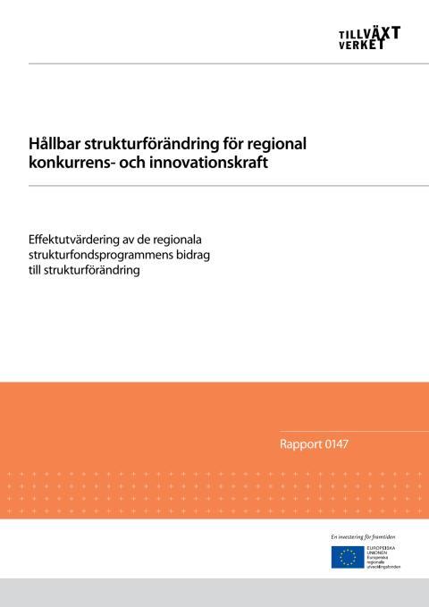 Rapport Hållbar strukturförändring... 130221