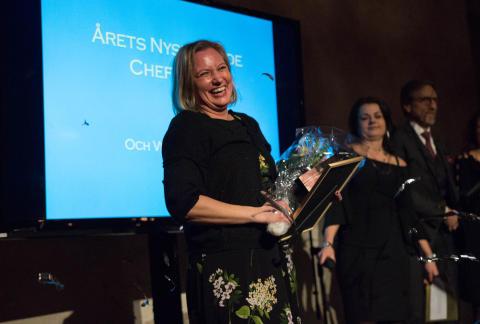Årets Nyskapande Chef 2017 - Christin Tjärnheden