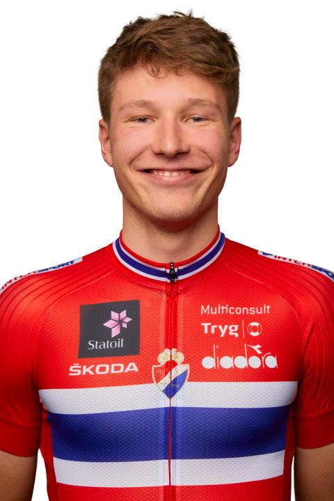 Håkon Lunder Aalrust U23 landslaget landevei
