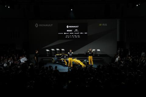 Renault F1 lansering i London