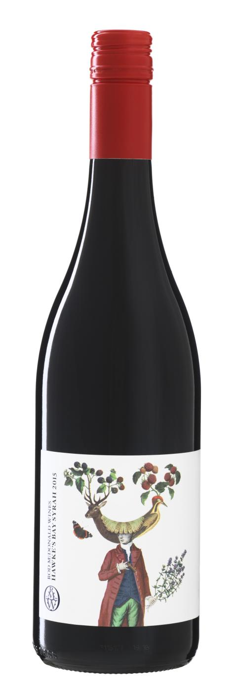 Rod McDonald Wines Hawke's Bay Syrah 2015