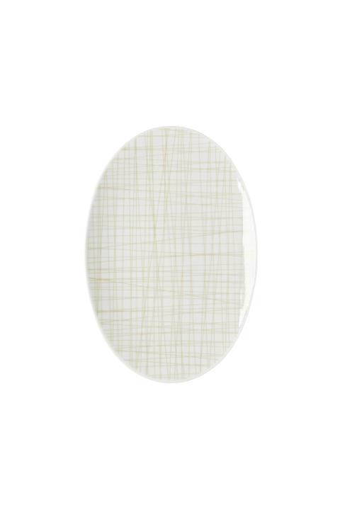 R_Mesh_Line Cream_Platter 25 cm