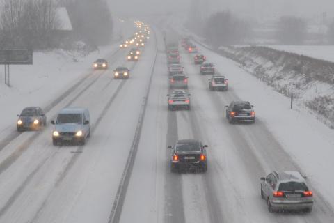 SMHI utfärdar klass 2 varning i Dalarna – trafikanter uppmanas ta det lugnt i trafiken