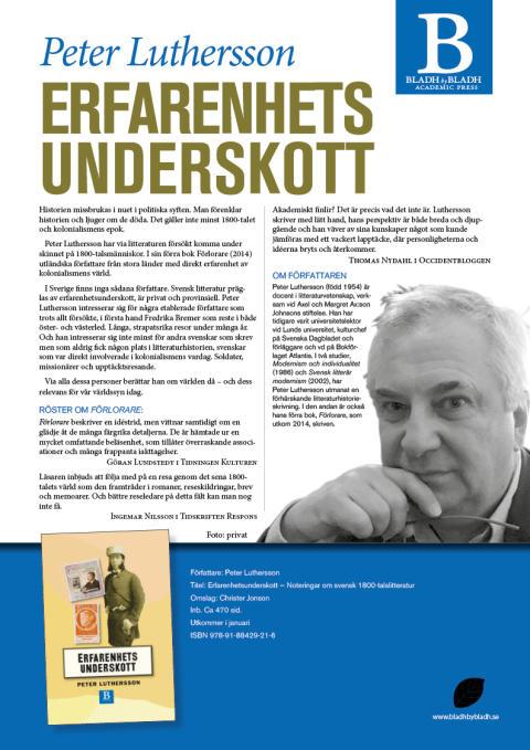 Informationsblad Erfarenhetsunderskott