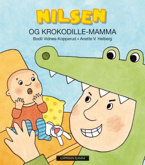 Omslag Nilsen og Krokodille-mamma