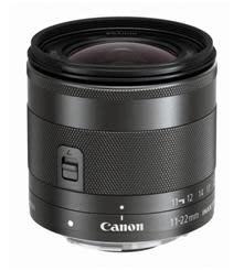 Vidga vyerna – Canon presenterar den kompakta supervidvinkeln EF-M 11-22mm f/4-5.6 IS STM
