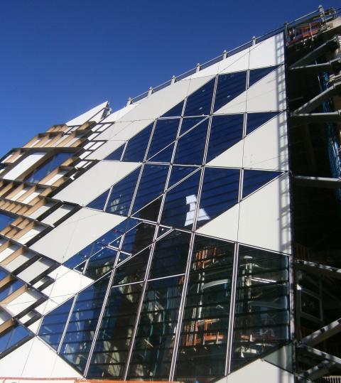 Neubau der University of Sheffield - The Diamond