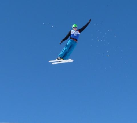 Freestyle skier Lloyd Wallace named as SportsAid's athlete of the month