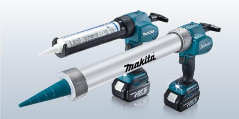 Makita utökar sitt 18V-sortiment ytterligare med fogpistoler