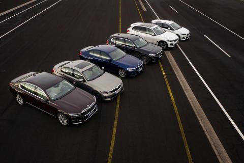 BMWs ladbare hybrider